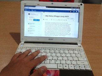 aku bukan blogger aktif